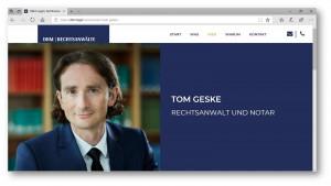 Rechtsanwalt für Wirtschaftsrecht in einer Kanzlei in Berlin