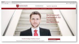 Portät Rechtsanwalt Startseite Kanzleiwebsite